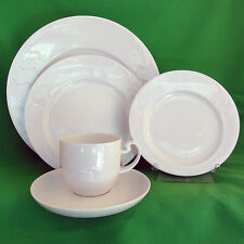 ASIMMETRIA  Rosenthal Germany White 5 Piece Place Setting NEW NEVER USED