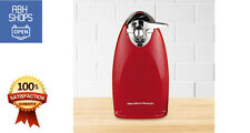 Hamilton Beach Ensemble Electric Can Opener Vintage Cutting Kitchen Tool Red New