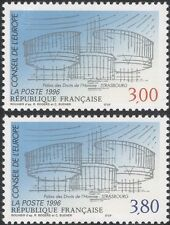 France (Council of Europe) 1996 Palace/Buildings/Architecture 2v set (n45909)