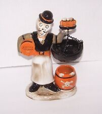 2015 Yankee Candle Boney Bunch Skully's Tap Room Last Call Bartender Figure.