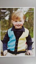 Heirloom Knitting Pattern #383 to Knit Child's Vest in 8 Ply