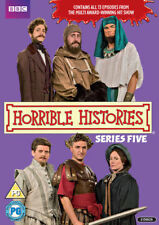 Horrible Histories Complete 5th Series Dvd Brand New & Factory Sealed