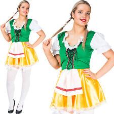Oktoberfest Wench Costume German Bavarian Beer Girl Maid Womens Fancy Dress