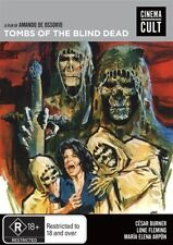 Tombs Of The Blind Dead (DVD, 2016) HORROR ALL REGIONS BRAND NEW AND SEALED
