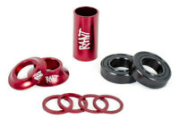 RANT MID BB BOTTOM BRACKET KIT 19mm BMX BIKE SHADOW SUBROSA CULT GT S&M HARO RED