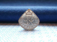 Genuine UK Sixpence Coin Pick.Acoustic / Eelectric Guitars.W W FREE POST. UNIQUE