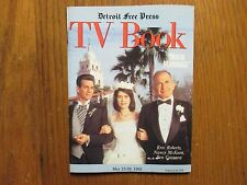 May 23-1993 Detroit Free Press TV Book/Mag(ERIC ROBERTS/BEN GAZZARA/NANCY McKEON