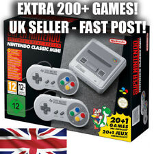 New Nintendo SNES mini classic with 200+ extra games! UK SELLER FAST DISPATCH!