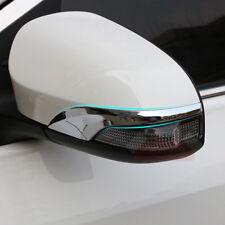 2x Chrome Door Mirror Singal Trim For Toyota Avalon Venza Camry Corolla Yaris