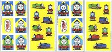 4 Sheets Thomas the Tank Engine Scrapbook Stickers! Train Percy James
