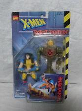 X-Men Marvel Comics 1997 Wolverine Robot Fighters Action figure & Droid