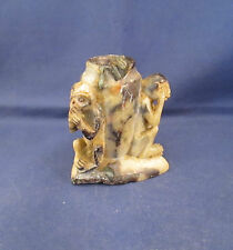 Vintage See No..Hear No..Speak No Evil Monkeys Marble Figurine       G14
