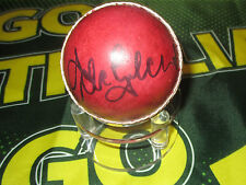 ADAM GILCHRIST HAND SIGNED RED CRICKET BALL UNFRAMED + PHOTO PROOF &  C.O.A