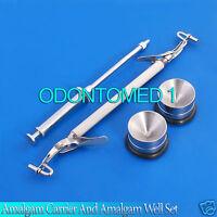 Amalgam Carrier And Amalgam Well Dental Instruments