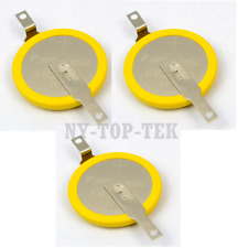 3X OEM CMOS Battery for Panasonic BR2032 3V Lithium-Ion Tab Tags RTC Bios Backup