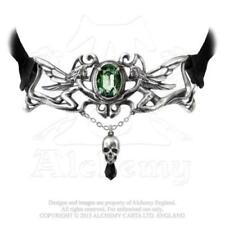 Oval Crystal Choker Costume Necklaces & Pendants