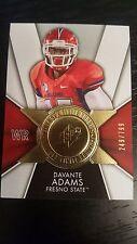 2014 Upper Deck SPX DAVANTE ADAMS (Packers) Rookie Card 249/799