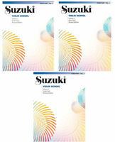 Suzuki Violin School - Violin Part Vol.1, 2 oder 3 - ohne oder mit CD