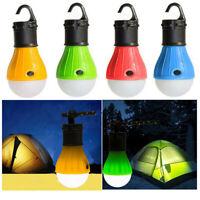 4Pcs Outdoor Portable Hanging LED Camping Tent Light Bulb Fishing Lantern Lamp