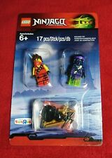 """LEGO Ninjago """"2 MINIFIGURES"""" Toys R Us Exclusive 5003085 New Sealed Blister Pack"""