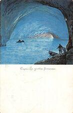 Italy Capri - La grotta Azzurra, cave, boats, grotto
