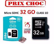 Carte mémoire MICRO SD Q.8503 - Micro SDHC UHS-I 32 Go CLASS 10 / Adaptateur