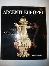 Antiquariato - Brunner: Argenti Europei Argenteria da Tavola 1970 Bramante 2a ed