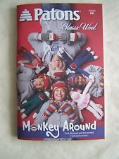 Patons Book Knit & Crochet 'Monkey Around' 14 Patt
