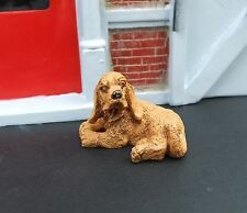 Cocker Spaniel Figurine for your Modeling Model Train or Diorama Builds 1/24