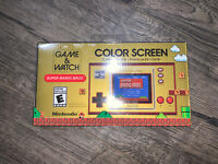 Nintendo Game & Watch Super Mario Bros Color Screen NEW IN BOX 🎄🎁🎄🎁