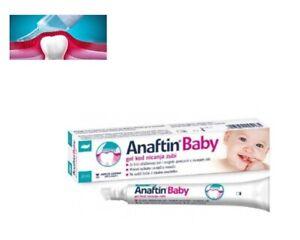 Anaftin Baby Teething Gel+soft aplicator Free Delivery