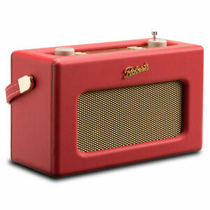 * * * NEW * * * BNIB - Roberts Radio RD-70 DAB Revival -CLASSIC RED Finish