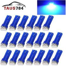 20x Blue T5 7374 3SMD Led Bulb Instrument Panel Dash Climate Control Light 37 74