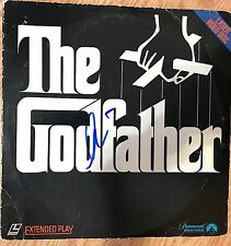 Al Pacino signed The Godfather Laser Disc - In Person Proof - Scarface