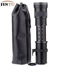 JINTU 420-800mm F/8.3-16 Super Telephoto Manual Zoom Lens for SONY ALPHA camera