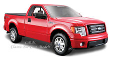 2010 Ford F-150 STX Red Pickup Truck 1/27 Diecast w/Opening Doors Tailgate 34270