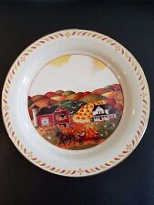 "Lenox Scenes America Collector's Plate 8.5""D Pennsylvania Harvest 1992"