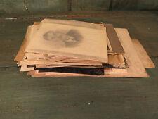 Lot photos anciennes carte postale mariage bapteme etc french antique