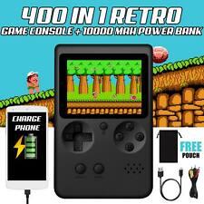 Handheld Game Player 10000mAh Power Bank Handheld Video Game Console Black Home