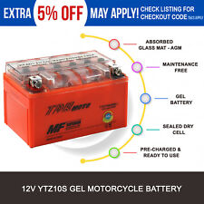 Battery Yamaha YZF-R6 FZ8 YZF-R1 YFM35R Raptor YJ125T Vino 125 XP500 T-Max 09-12