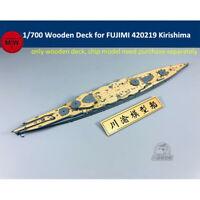 1/700 Wooden Deck for FUJIMI 420219 IJN Kirishima Battleship Model Kits