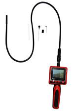 """Vividia 9mm 2.4"""" LCD Portable Semi-Rigid Inspection Camera Borescope"""