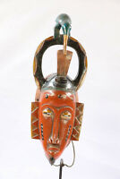 AZ1 Guro Baule Maske alt Afrika / Masque Gouro ancien / Old tribal mask Africa