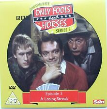 DVD The Sun Promo ONLY FOOLS and HORSES, A LOSING STREAK Series 2 Episode 3