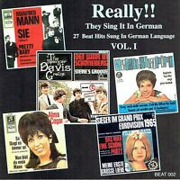 (CD) Really!! They Sing It In German Vol. I - Michel Polnareff, Merseybeats,u.a.