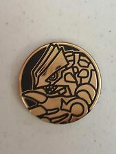 1X Groudon Flip Coin Gold 2016 Collectible -From Giratina 3 pack Blister-Pokemon