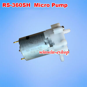 RS-360SH Motor Self-priming Pump DC 3V 9V 12V Mini Aquarium Water Pump Gear Pump