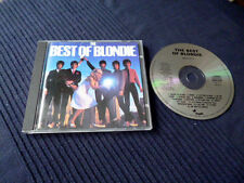 CD Blondie Best Of Greatest Hits Collection Denis Heart Of Glass Rapture Atomic