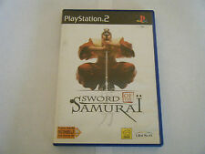 Sword Of The Samuraï - Sony PlayStation 2 - Sans Notice - Occasion - PAL
