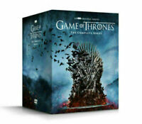 Game of Thrones Complete Series DVD Box Set seasons 1-8 New SEALED